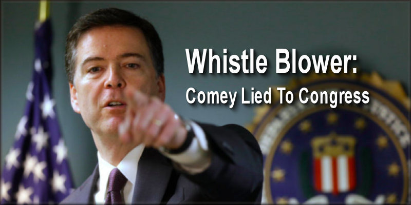 BREAKING : New Declassified Docs Prove James Comey Lied to Congress
