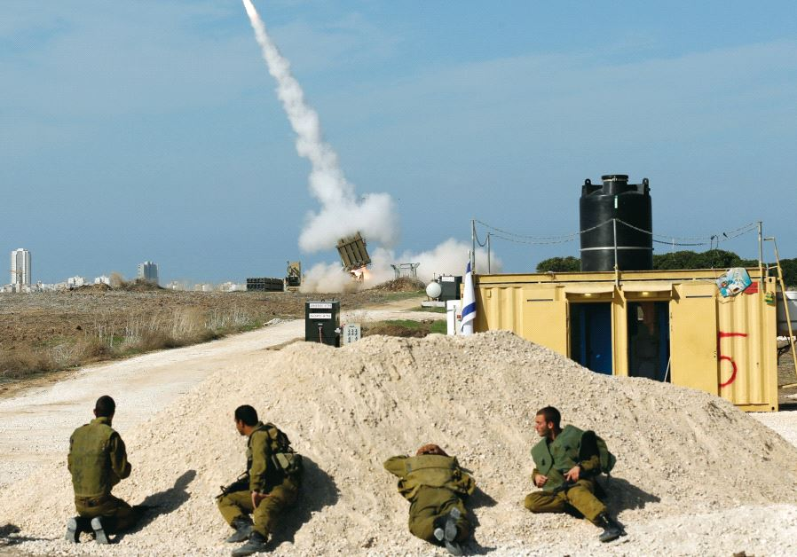 ISRAEL CONDUCTS 'EXPERIMENTAL' ROCKET TEST OVER HEART OF THE COUNTRY