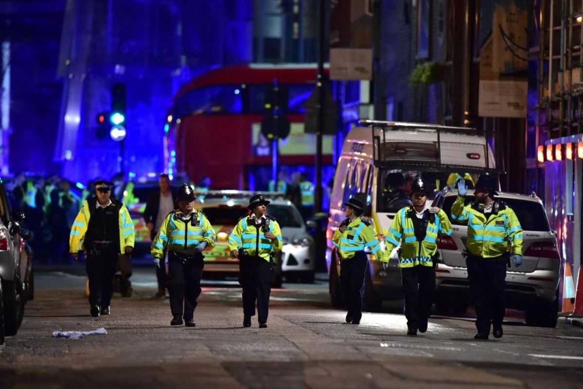 Live videos London Bridge Terror Attack