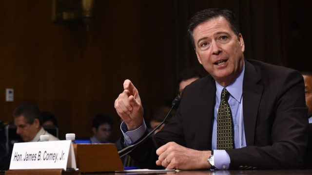 Comey confesses to having friend leak memo to N.Y. Times.
